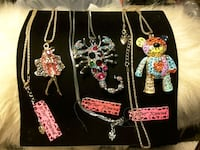 NEW Figurines necklaces by BetseyJohnson  Ladson, 29456