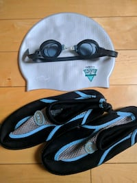 Swimming set ( For kids). Goggles Nike/Adidas