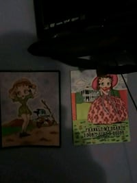 two assorted DVD movie cases