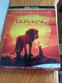 Lion King 4k only 4k disc Falling Waters, 25419