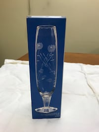 "NIB 8"" Simpson Bud Vase by Toscany Collection Bellevue, 68147"