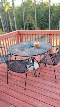 Wrought iron table set North Augusta, 29841