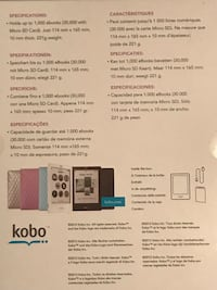 Kobo touch Laval, H7H 3A2