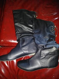 Top Moda Leather Womens Boots sz9