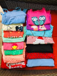 Lot of 2T Toddler Girl Shirts (15 total) 757 mi