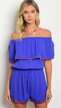 Women's blue and red sleeveless dress Bakersfield, 93309