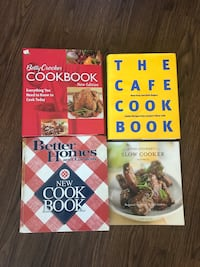 4 Cookbooks 44 km