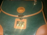 green and brown leather handbag Peoria, 85345