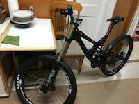 black full-suspension bike DH INTENSE NEW New York, 11368