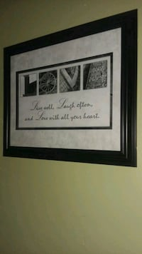 Live, Laugh, Love Wall Hanging, 18 x 23 New Port Richey, 34654