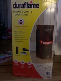 Duraflame tower heater. Union, 07083