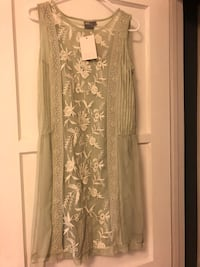 Band new ASOS sage lace dress size 6 Los Angeles, 91325