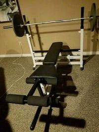 Body-Solid Olympic sized weight bench Reading
