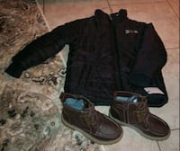Timberland new coat and shoes for kids St. Louis, 63125