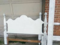 white wooden bed headboard and footboard and sides Miamisburg, 45342
