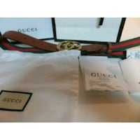 green, brown, and red Gucci leather belt Richmond, 77407