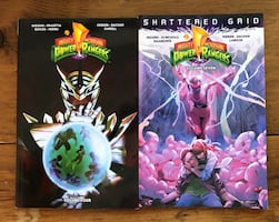 Power Rangers Graphic Novels