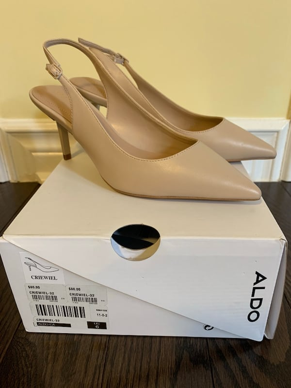 Brand new nude heels - size 6  0