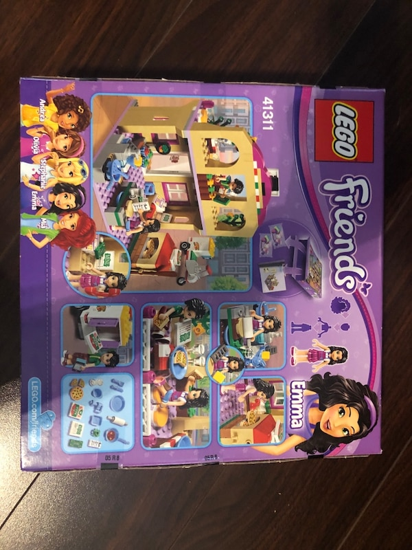 Used Lego And Friends Heartlake Pizzeria Set Brand New In Box For