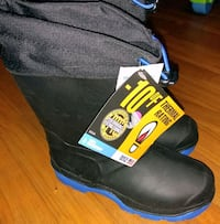 black and blue kids snow boots size 1 Findlay, 45840