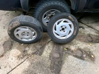 2000 Honda Civic wheels/tires 28 km