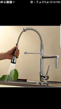 brushed nickel Contemporary kitchen faucet  Chicago, 60619