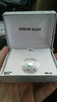 Sterling Silver Pendant necklace Wasilla, 99654