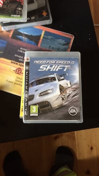 Sony PS3 Need for Speed ​​Shift spill tilfelle 6056 km