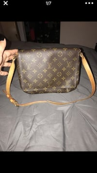 brown monogrammed Louis Vuitton leather crossbody bag Pinole, 94564