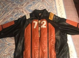 ecko unlimited akira jeather jacket Rare jacket
