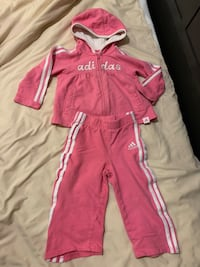 12 month girl's clothing set