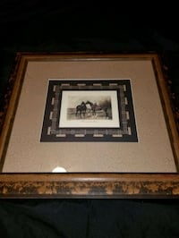 glass framed horse picture Kitchener, N2A 1N7