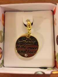 Gold plated charms/or can be worn with a chain Windsor, N9J 1B2