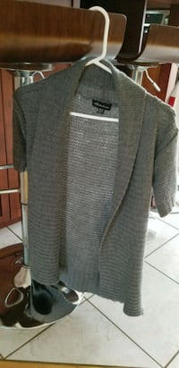 gray and black long-sleeved cardigan Laval, H7J 1B7