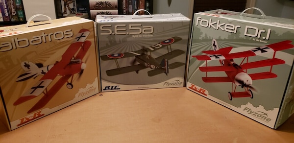 Brand new! Flyzone RC Airplanes