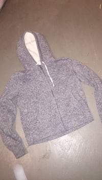 gray and white zip-up hoodie Windsor, N8S 3M9