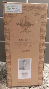 New Willow Tree Musical Together Figure
