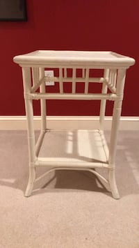 Rattan white nightstands Great Falls, 22066