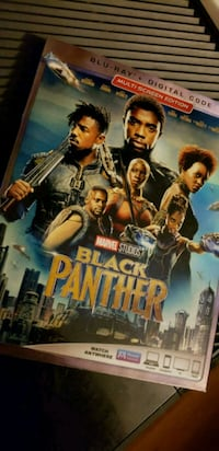 Black Panther BluRay with digital code Orange Park, 32065