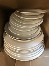 white ceramic plates and bowls Annandale, 22003