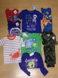 toddler's assorted clothes London
