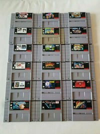 Super Nintendo Games - Prices in More Info Mississauga, L4Z 0A5