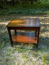 rectangular brown wooden side table Raleigh, 27609