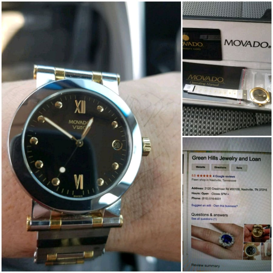 movado mens / womens watch
