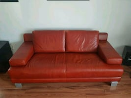Leather Couch!