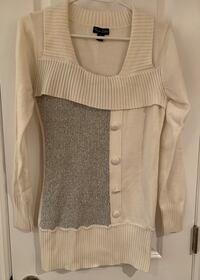 White and grey sweater Oakville, L6L 4X4