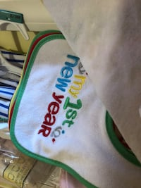 My first baby bibs Medford, 11763
