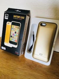 Brand new power bank and case for iPhone 5/5S/5C Ontario, 91761