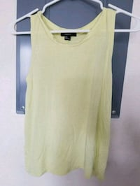Forever 21 yellow tank