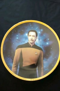 Star Trek TNG Data collector plate Mississauga, L4Z 1W3